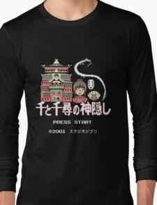 Pixeled Away! Long Sleeve T-Shirt