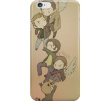 Holding on to SPN  iPhone Case/Skin