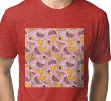 """Oro?"" Series Ice Cream Pink Tri-blend T-Shirt"