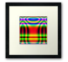 Psychedelic Pattern 04 Framed Print