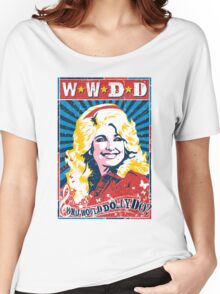 Dolly Parton. What Would Dolly Do? Nashville Country Music Women's Relaxed Fit T-Shirt