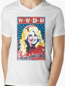 Dolly Parton. What Would Dolly Do? Nashville Country Music Mens V-Neck T-Shirt
