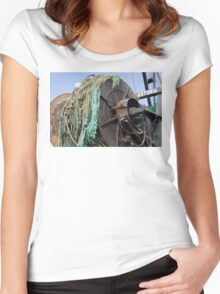 Astoria Fishing Boat Women's Fitted Scoop T-Shirt