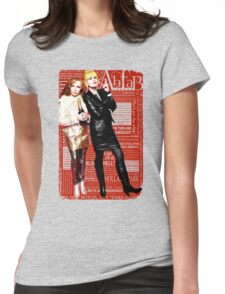 Absolutely Fabulous, Sweetie! Darling! Patsy and Edina. Ab Fab typography quotes. abfab. BBC Womens Fitted T-Shirt