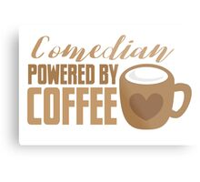Comedian powered by COFFEE Metal Print