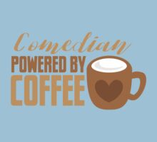 Comedian powered by COFFEE Kids Tee