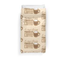 Comedian powered by COFFEE Duvet Cover
