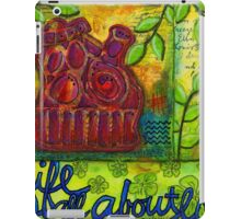 Life is All About Loving and Sharing iPad Case/Skin