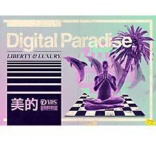 Digital Paradise Photographic Print