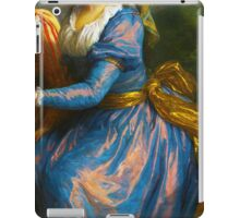 Historical Fashion old master abbreviated image iPad Case/Skin