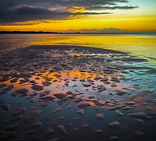 Dusk on Cayo Coco by Valerie Rosen