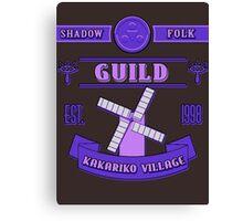 Legend of Zelda - Kakariko Village Guild Canvas Print