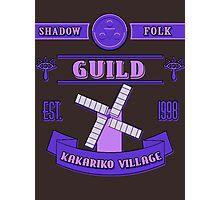 Legend of Zelda - Kakariko Village Guild Photographic Print