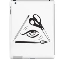 D Eye Y iPad Case/Skin