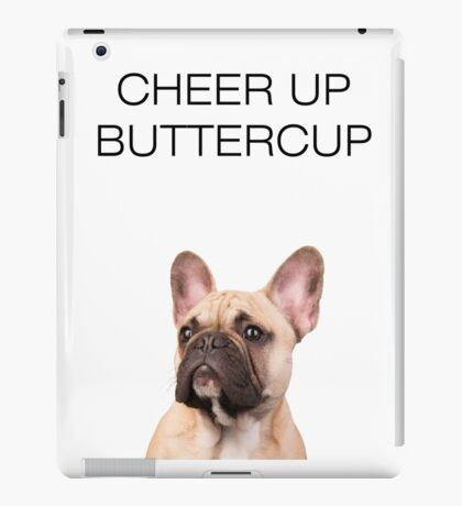 French Bulldog Cute Funny iPad Case/Skin