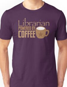 Librarian powered by Coffee Unisex T-Shirt