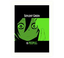 Quotes and quips - Soylent green Art Print
