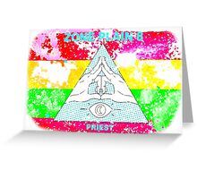 Tim And Eric- Zone Theory Plane 8 Priest Greeting Card