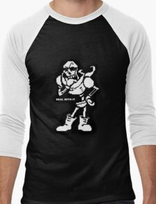 Papyrus- Deal With It Men's Baseball ¾ T-Shirt