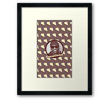 Cheescake Is Sensational Framed Print