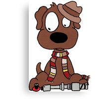 Dog Doctor Who Canvas Print