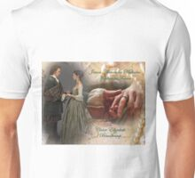 Outlander Wedding collage/Jamie and Claire Unisex T-Shirt