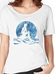 Lilly Pulitzer Inspired Mermaid (2) Dark N Stormy Women's Relaxed Fit T-Shirt