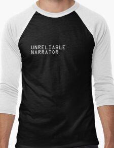Unreliable Narrator Men's Baseball ¾ T-Shirt