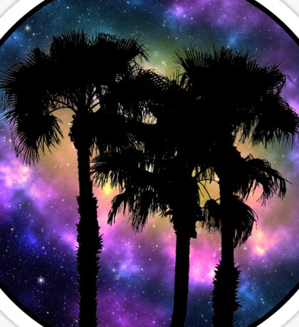 Desert Night Sky Sticker
