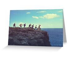 Bangtan Boys  Greeting Card