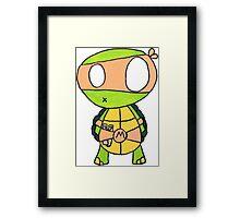 Kid Michelangelo Framed Print