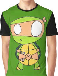 Kid Michelangelo Graphic T-Shirt