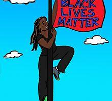 Black Lives Matter by Tatiana  Gill