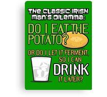 Irish Man's Dilemma (ARHCER) Canvas Print