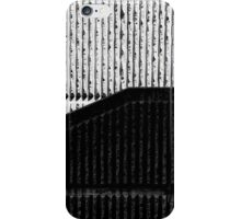 Abstract staircase in monochrome iPhone Case/Skin