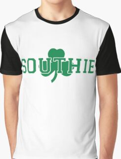Southie (green on white) Graphic T-Shirt