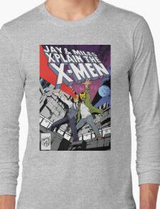 Jay and Miles X-Plain the X-Men Long Sleeve T-Shirt