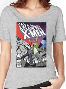 Jay and Miles X-Plain the X-Men Women's Relaxed Fit T-Shirt