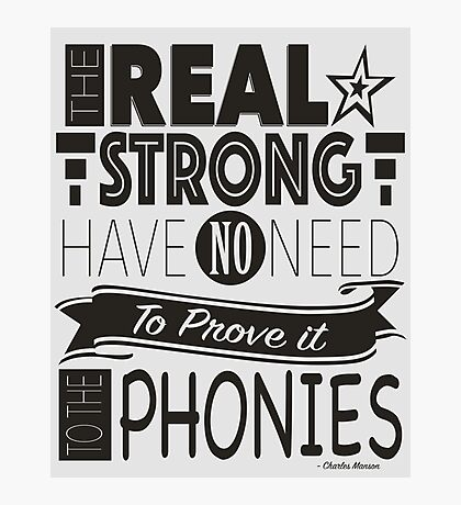 The Real Strong Photographic Print