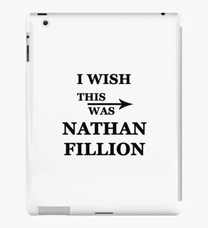 I wish this was Nathan Fillion iPad Case/Skin