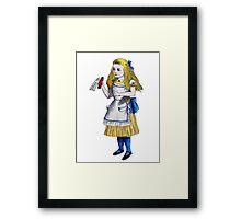 Alice 'Drink Me' Framed Print