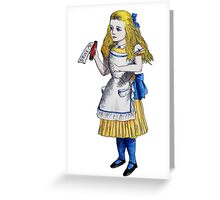 Alice 'Drink Me' Greeting Card