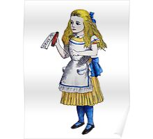 Alice 'Drink Me' Poster
