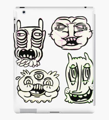 Ugly Buddies iPad Case/Skin