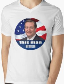 Ted Cruz is a monster 2016 Mens V-Neck T-Shirt