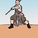Sand Warrior by Tatiana  Gill