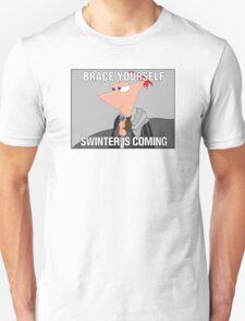 swinter is coming Unisex T-Shirt