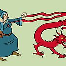 The Wizard by Tatiana  Gill