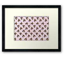 Spice Pattern Framed Print
