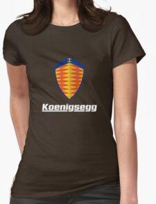 koenigsegg retro Womens Fitted T-Shirt